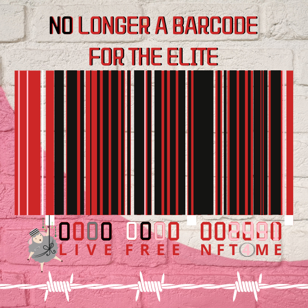 No Longer A Barcode For The Elites Of The World.
